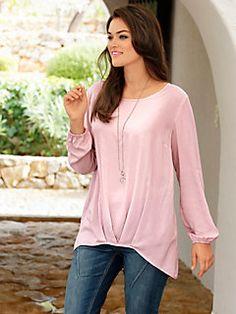 2936e137cdc4 Guido Maria Kretschmer - Oversized Bluse rosé im heine Online-Shop kaufen