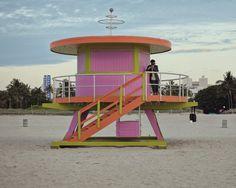 Miami Beach Lifeguard Stands taken by SeanWasHere. #miamibeach #exploremiami #livelikeyoulivehere #miami #thenewtropic
