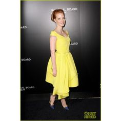 Jessica Chastain National Board of Review Awards Gala 2014 found on Polyvore