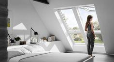 Dachgeschosswohnung ausbauen mit VELUX * Schlafzimmer unterm Dach * Wohnideen für kleine Räume