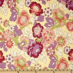 Amy Butler Gypsy Caravan Cutting Garden Linen Fabric