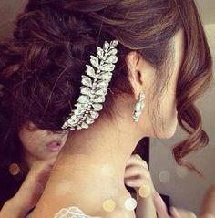 #wedding hair updo idea