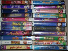 Disney movies on VHS