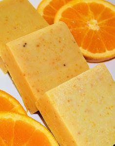 All Natural Orange Ginger Soap