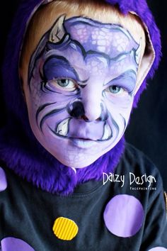 Body Art - Some Awesome Face-Paintings by a Mom From New Zealand.