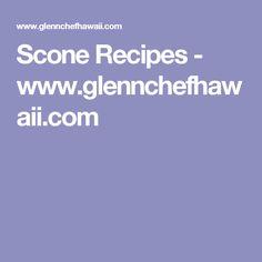 Scone Recipes - www.glennchefhawaii.com Scone Recipes, Breakfast Recipes, Cranberry Scones, Bread Rolls, No Bake Desserts, Cooking Recipes, Favorite Recipes, Treats, Baking