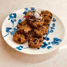 Μπισκότα χωρίς ζάχαρη και γλουτένη με κεχρί, στραγάλια και σταφίδες