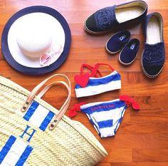 Monogram beach basket   Order your at companhiadascestas1@gmail.com