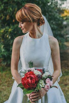 Bright Bouquet with Peonies | Brides.com