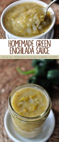 This homemade green enchilada sauce tastes a million bazillion times better than the brands I've bought in the past and is pretty darn simple.