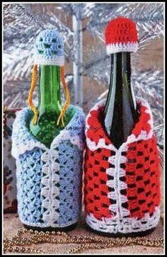 Image detail for -Santa Croche Crochet Diy, Crochet Home, Crochet Gifts, Christmas Crochet Patterns, Holiday Crochet, Crochet Flowers, Crochet Doilies, Yarn Crafts, Crochet Stitches