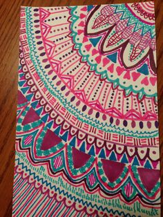 My drawing in case you need sharpie doodling ideas:)