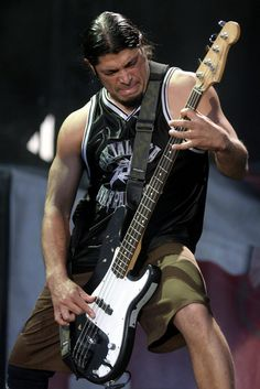 "Robert Trujillo ""A Great Guy, & An Amazing Bass Player/Musician/Artist... He Is The Real Deal!!."" JDC'"