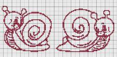 Cross Stitch *♥* les-deux-escargots.jpg