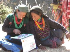 Women reading during one of our literacy programs in Nepal. World Education worked closely with the Ministry of Education, Nepal on the dev. Ministry Of Education, Education For All, Literacy Programs, Woman Reading, Nepal, Africa, Women, Women's, Afro