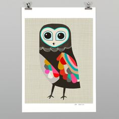 Luna Print by Inaluxe - Art Prints NZ Art Prints, Design Prints, Posters & NZ Design Gifts   endemicworld