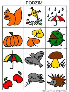 Pro Šíšu: Komunikační obrázky Free Preschool, Preschool Worksheets, Preschool Activities, Alphabet Activities, Book Activities, Owl Name Tags, Fall Games, Autumn Activities For Kids, Fall Crafts