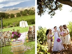 Gainey Vineyard And Ranch Santa Ynez Barbara Area Winery Wedding