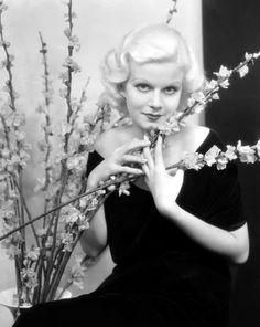 Jean Harlow...original blonde bombshell