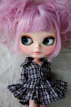 Blythe Plaid, I love your hair!
