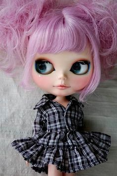 blythe doll, this one is cute.