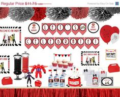 Big Hero 6 Party Package Instant Download by EasyPartyPrintables