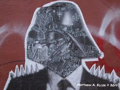 Stikki in particular discusses three of his pieces scattered around Williamsburg Brooklyn.  Notice the attention to small detail Stikki uses to create mosaics with stickers and flyers pasted within each piece.  Additionally, his attentiveness to each tiny facet in the Vader & Storm Trooper masks elevates his work from a simple paste up to a true piece of urban art.