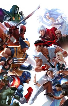 Marvel vs. Capcom: One of the best fighting games on the market