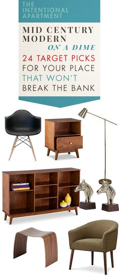 Mid Century Modern On A Dime: 24 Target Picks For Your Place That Won't Break The Bank | Primer