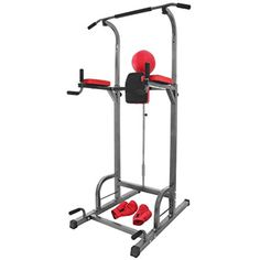 OrangeA 360 361 363 Multi-Function Power Tower Dip Station Adjustable Height Folding Power Tower with Sit Up Bench Pull Up Bar Standing Tower for Indoor Home Gym Fitness ** You can find out more details at the link of the image. (This is an affiliate link) #ExerciseFitness
