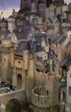 Alan Lee - Gorgeous work. http://alan-and-john.tumblr.com/tagged/other+illustration/page/3