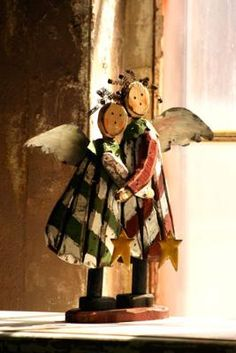 wooden angels :x:x