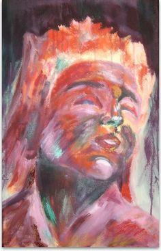 """Rosa Maza Galería: """"Emociones"""" Título: """"Pasión II"""""""