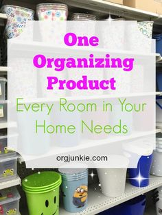 One Organizing Product Every Room Should Have---a wastebasket! Clutter Organization, Planner Organization, Office Organization, Bathroom Organization, Organizing Your Home, Organizing Tips, Organising, Household Notebook, Getting Organized