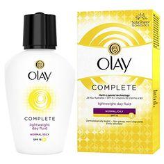 Cosmetics USA - Olay Complete Lightweight 3In1 Moisturiser Day Fluid Spf15 Normal/Oily 200Ml