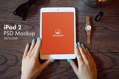 iPad 2 Mockup by Fomochkin's Shop on Creative Market