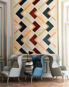 armchair RO chair by Jaime Hayon for Fritz Hansen