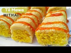 5 Minutes Indian Strawberry Roll Sweet Quick & Easy Indian Sweets Dish Recipe 5 मिनटमे स्ट्रॉ - YouTube