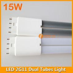 417mm 15W LED 2G11 dual tubes light