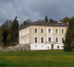 Escot House, not open to the public but there are footpaths around the 1200 acre estate