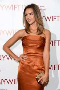 Jessica Alba in Vivienne Westwood gown at the 2014 New York Women In Film  And Television 8737565956d09