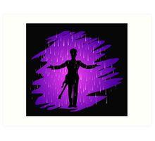 Purple Rain - Prince  Art Print