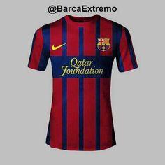FC Barcelona | 1a. equipación 2013 ?