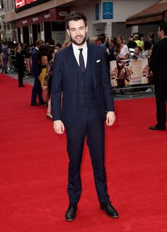 Jack Whitehall knows that a good suit is no laughing matter. | Just 27 Hot UK Celebs That'll Cheer You Up