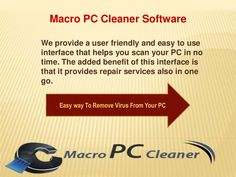 Easy Way To Speed Up Your PC - Online PC Cleaner by Macro  PC Cleaner via slideshare