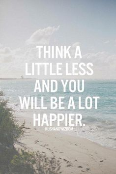 Focus on being happy