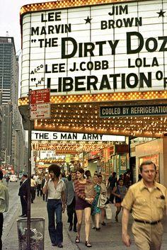 New York 1971 - Broadway Cinemas by Gentle***Giant, via Flickr