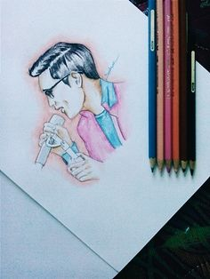 Afgan syahreza. My fav male singer #sing #sketch