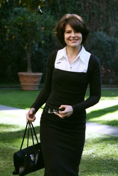 French actress Fanny Ardant. She ages flawlessly and has impeccable style. Stunning woman.