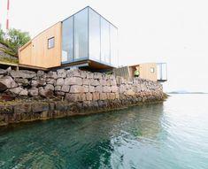 Le Manshausen Island Resort, imaginé et réalisé par l'architecte Snorre Stinessen, se trouve au nord de la Norvège sur une île de l'archipel de Steigen. Le